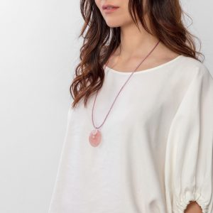 joyas cuarzo rosa