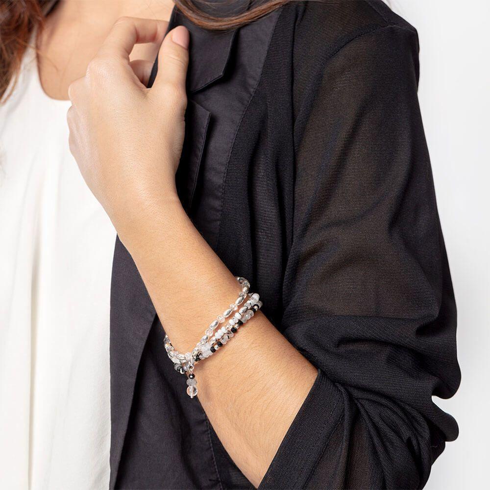 triple tourmaline bracelet