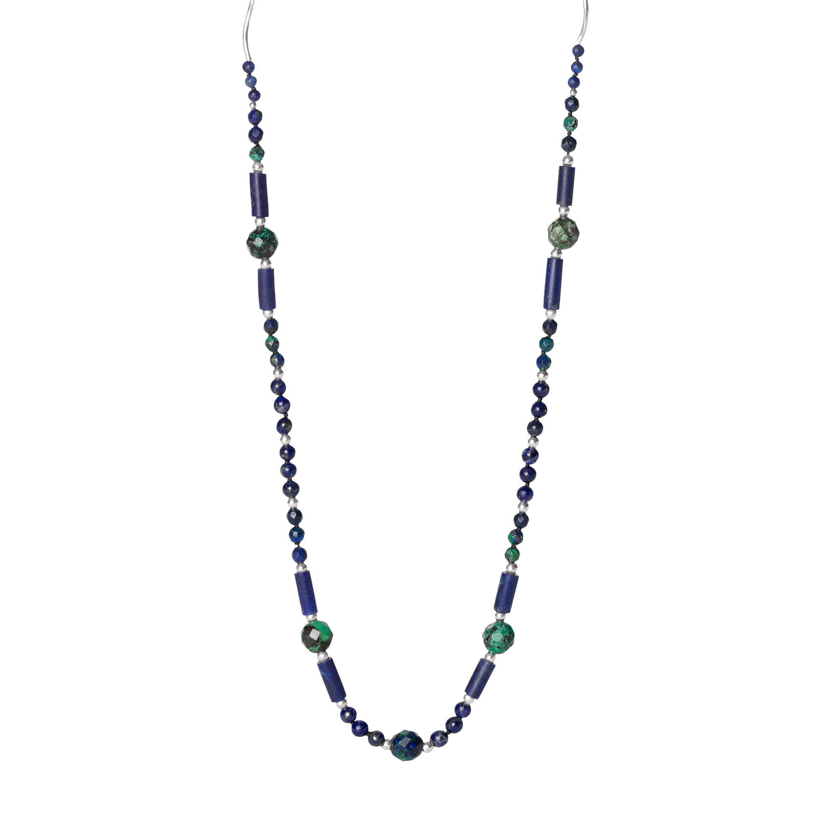 Lapis long necklace