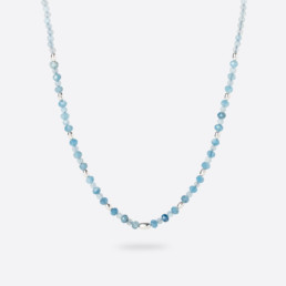 Aquamarine Kara short necklace