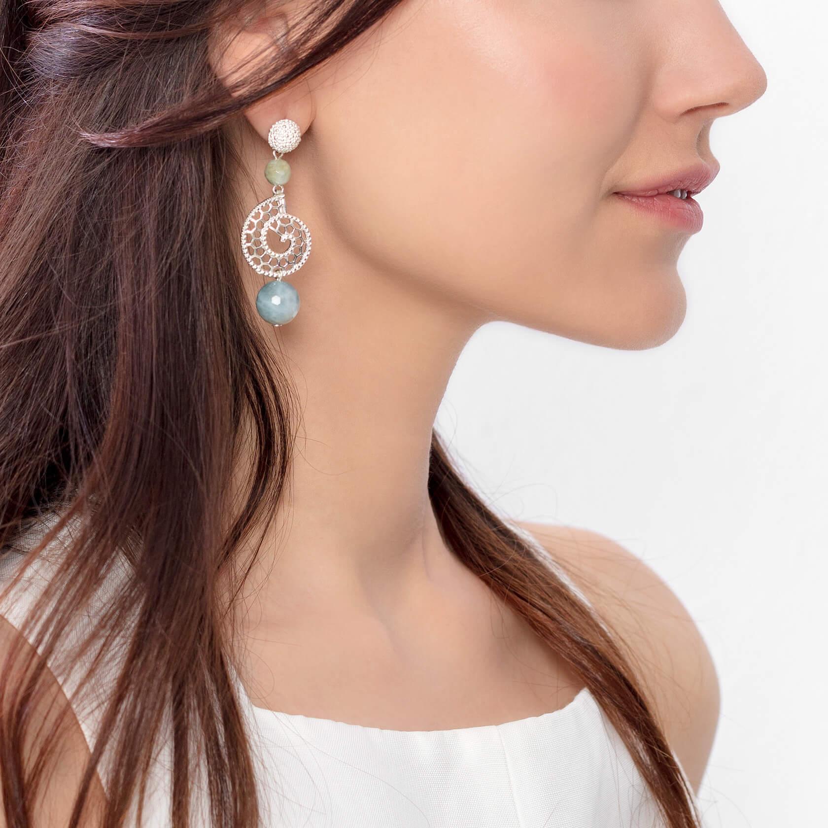 marybola large shell earrings