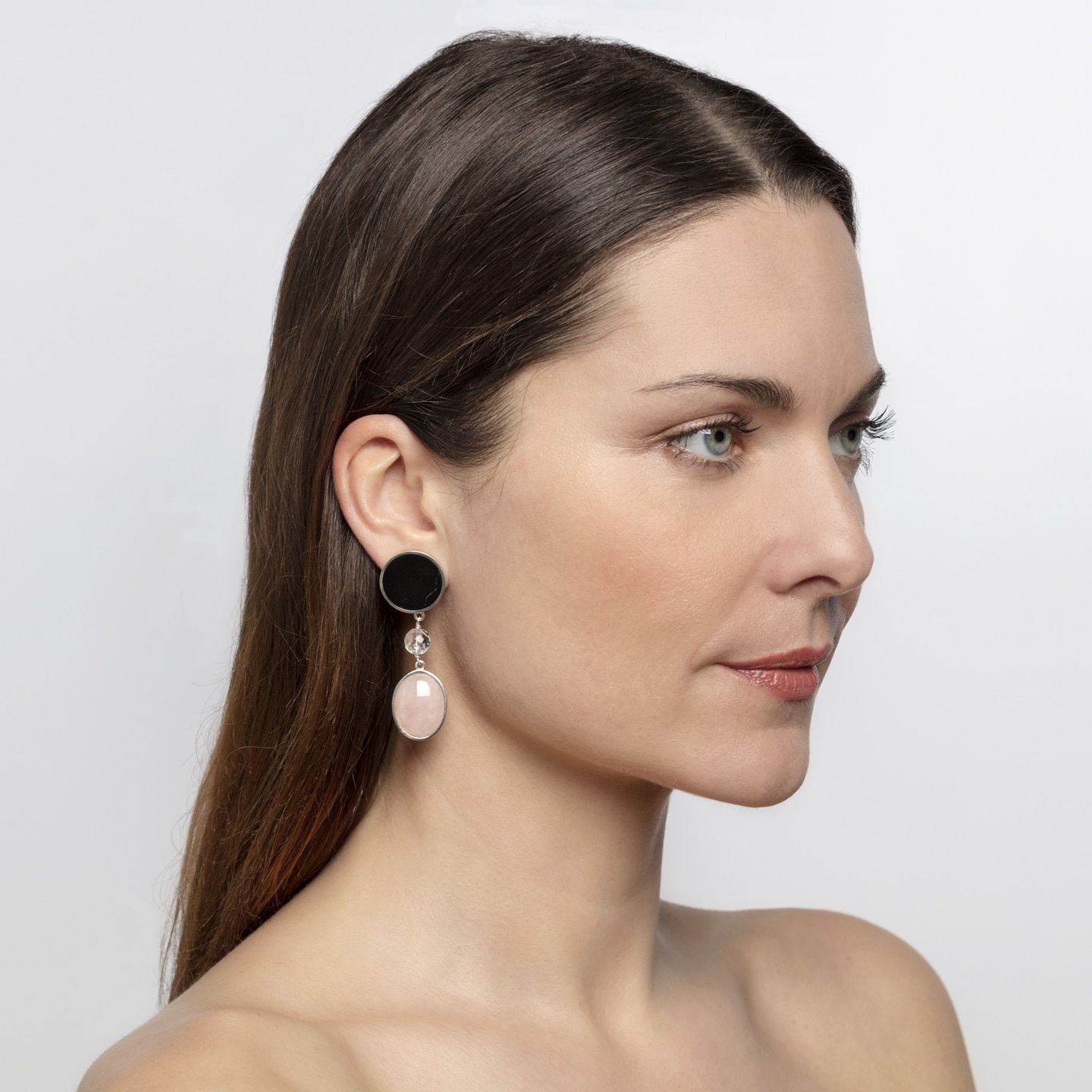 Quartz earrings Marybola