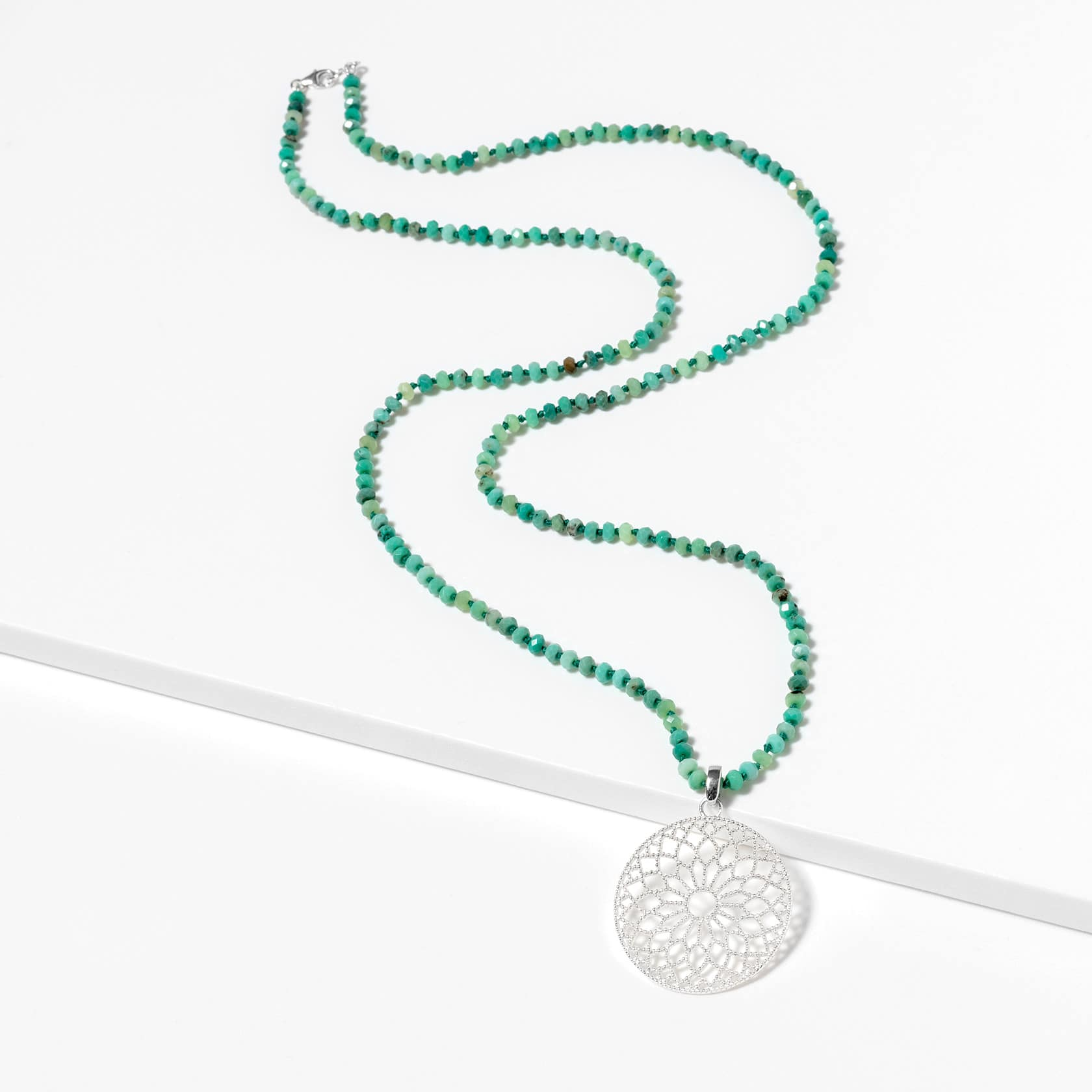Moana chrysoprase necklace
