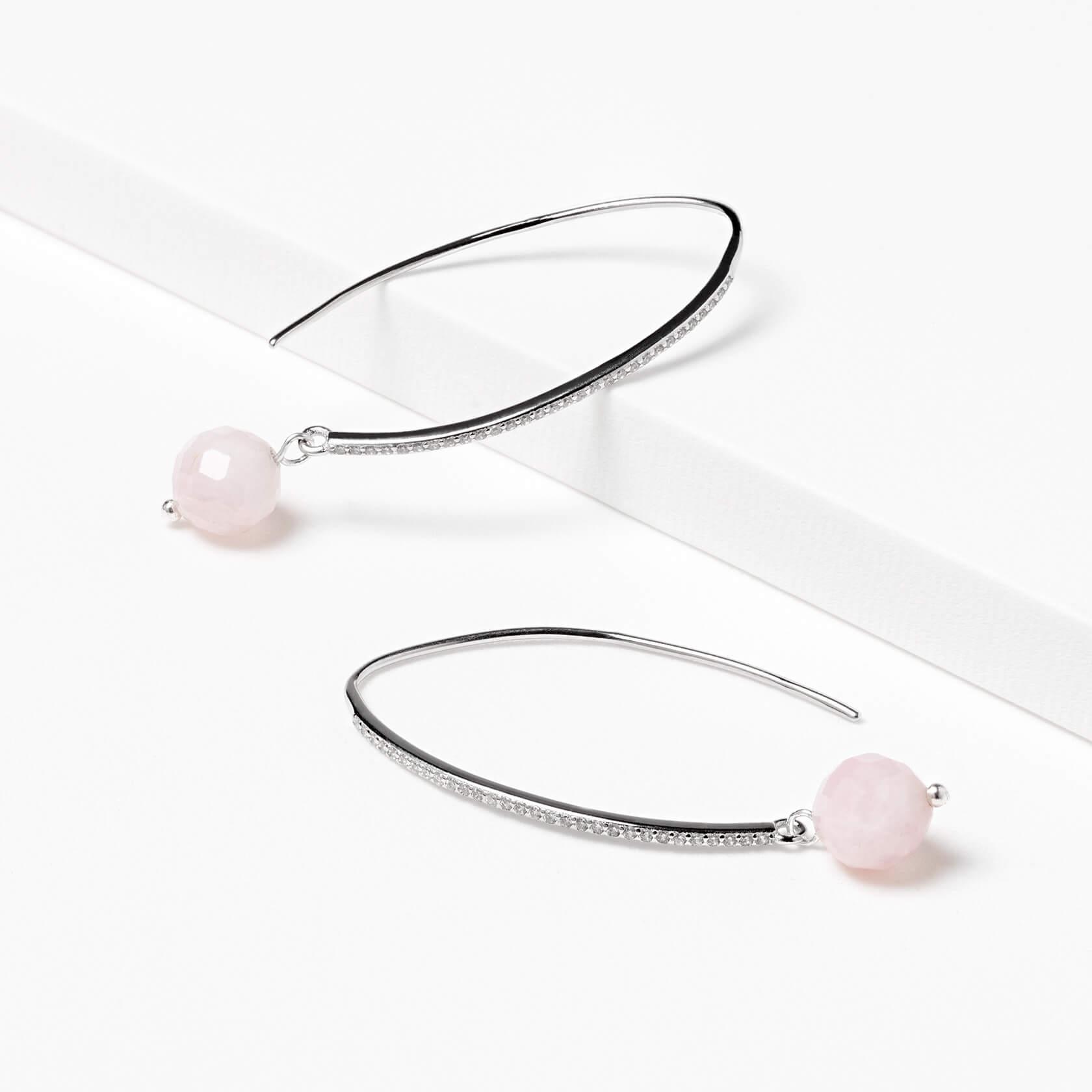 Morganite earrings marybola