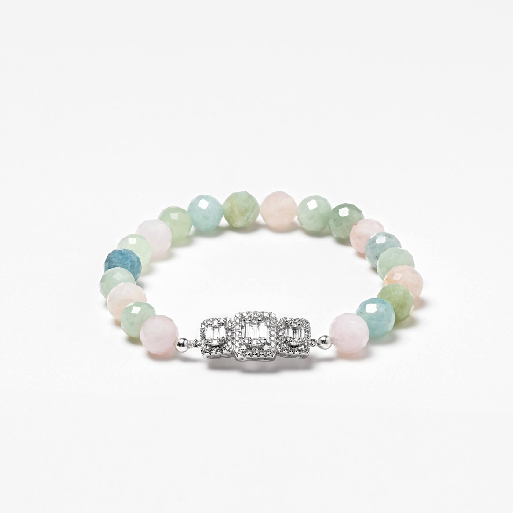 Nube aquamarine bracelet