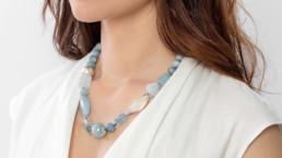 collares artesanales minerales