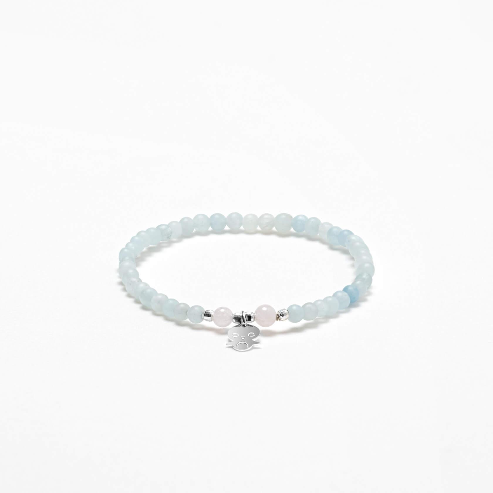 Penguin aquamarine bracelet