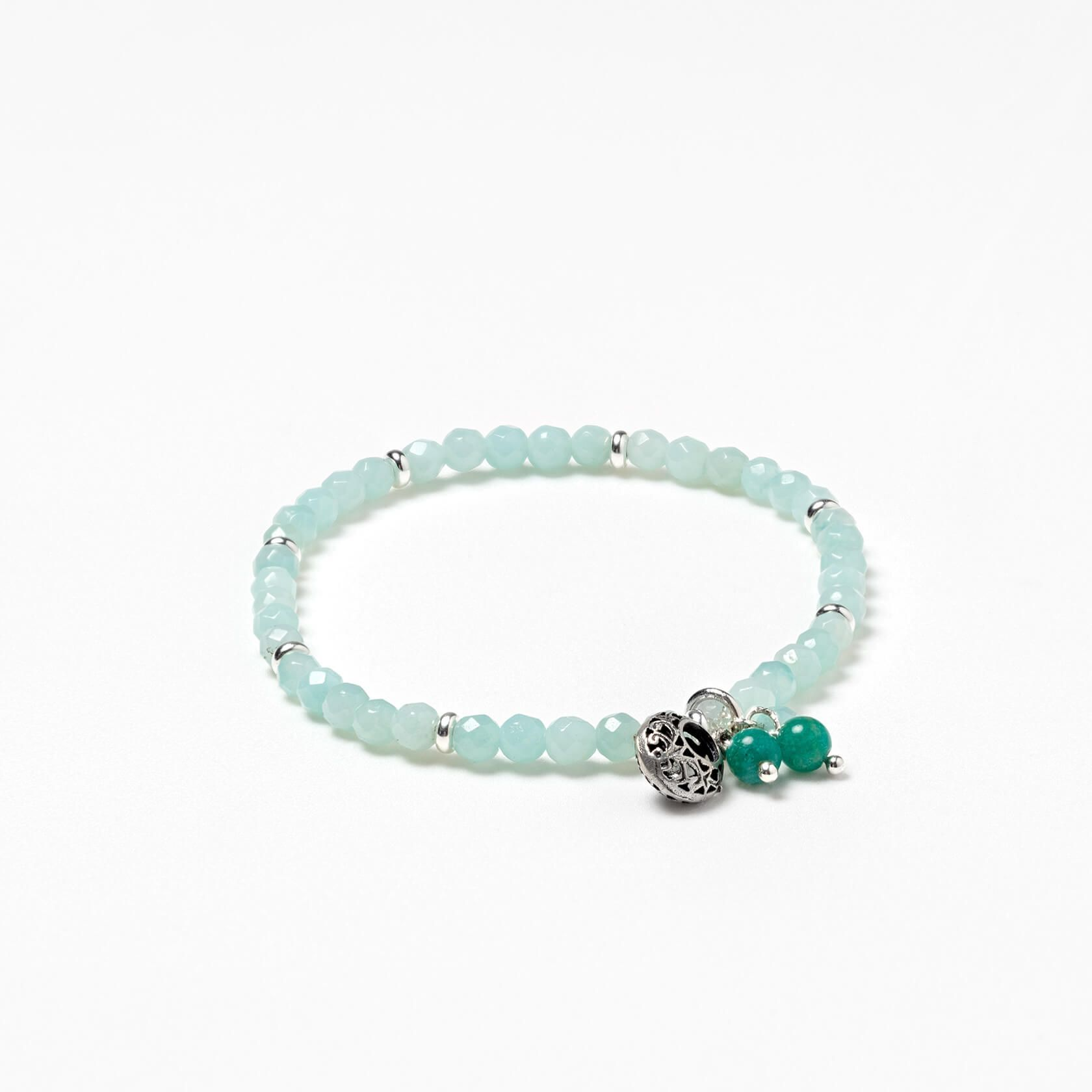 Amazonite Cora elastic bracelet