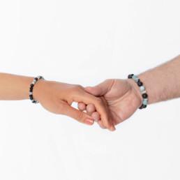onyx lava unisex bracelet