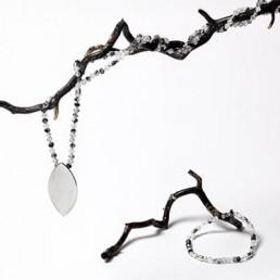 joyas hechas con minerales