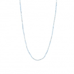 Chalcedony long necklace