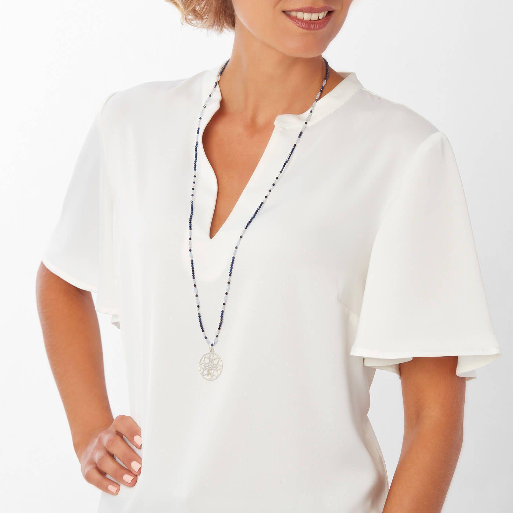 Collar Neptuno mandala mini