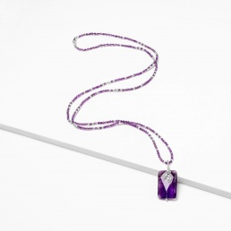 Sirocco amethyst necklace