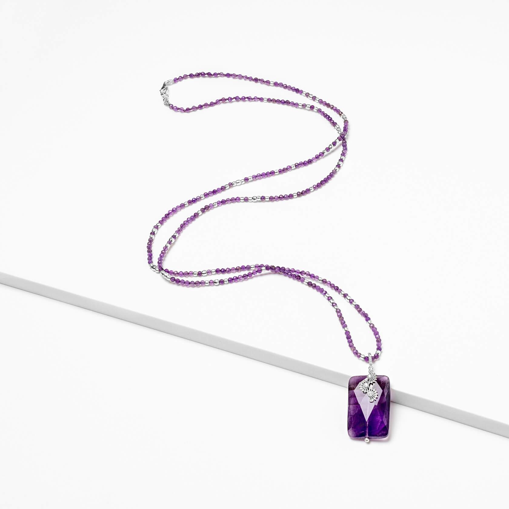 Sirocco amethyst necklace