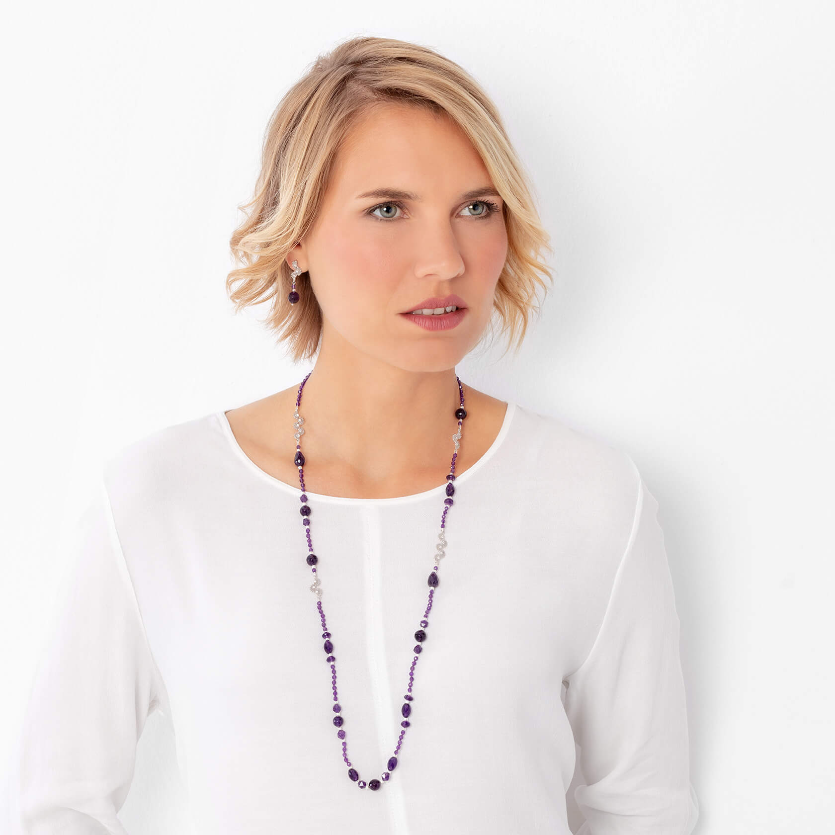 Long Sirocco necklace