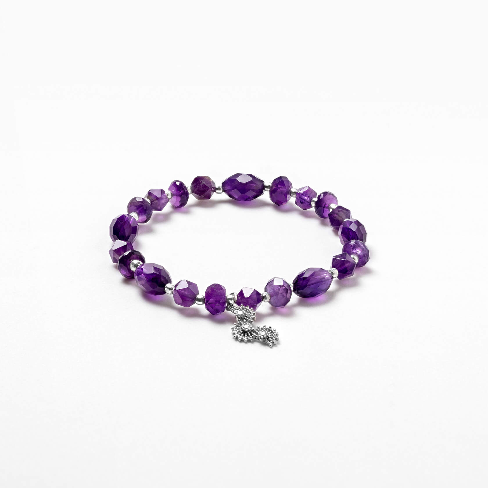 amethyst Shapes bracelet