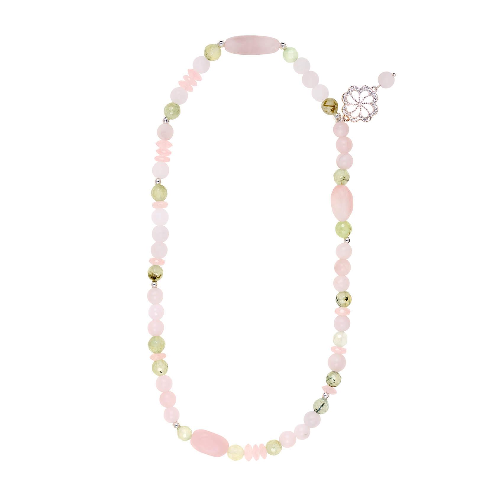 pulsera cuarzo rosa sakura