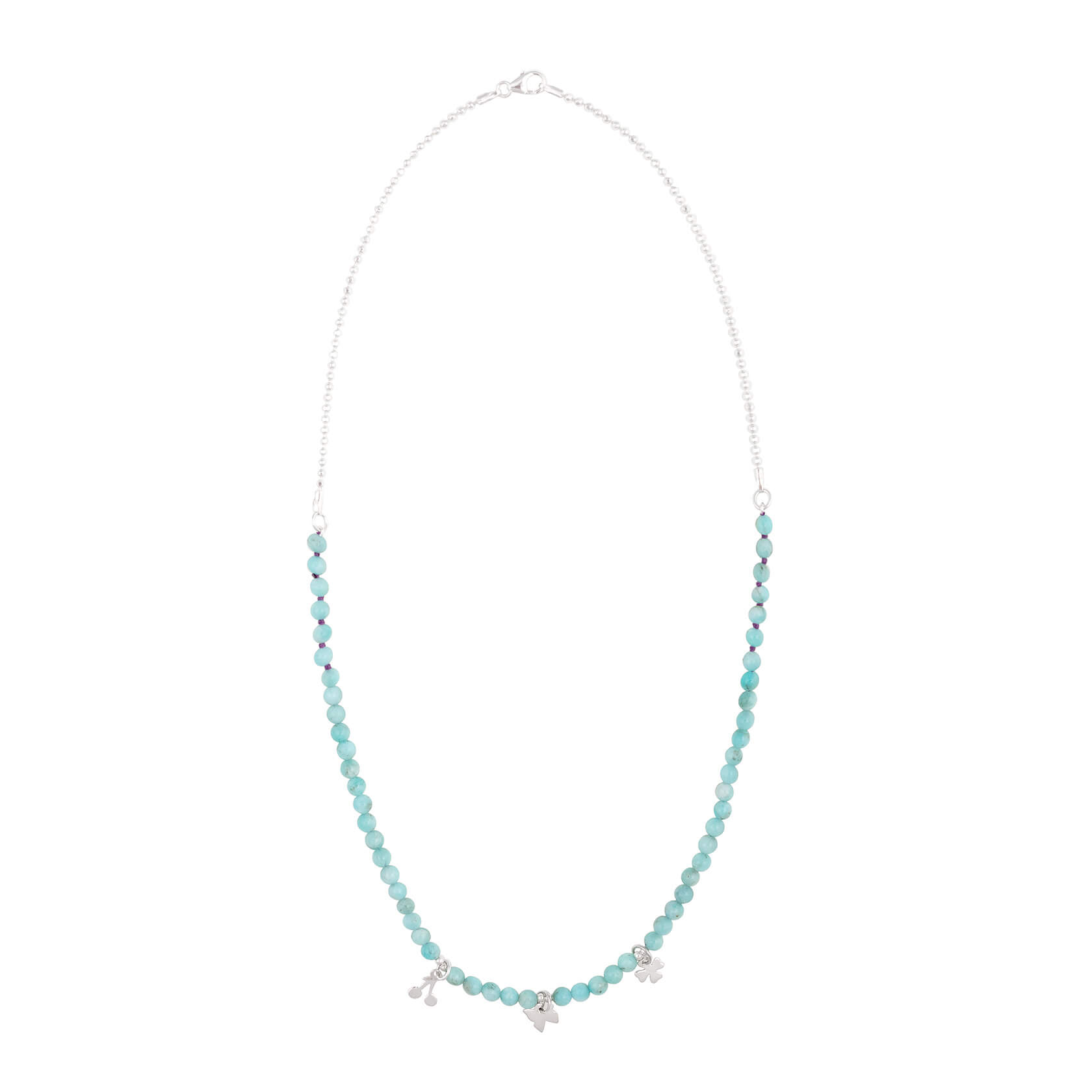 Amazonite short necklace