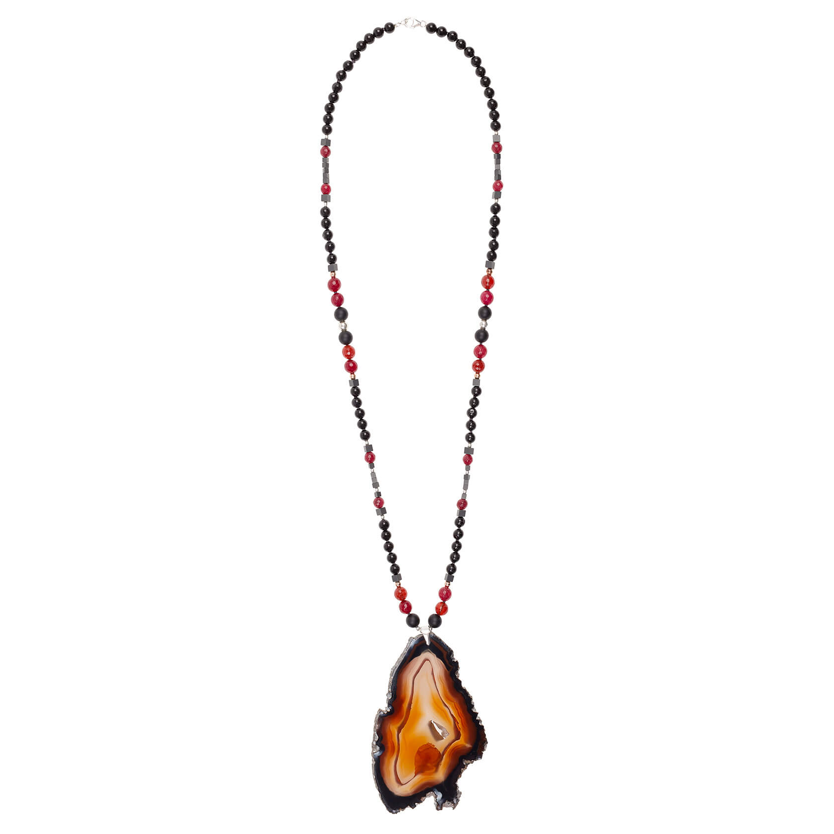 Agate necklace Marybola