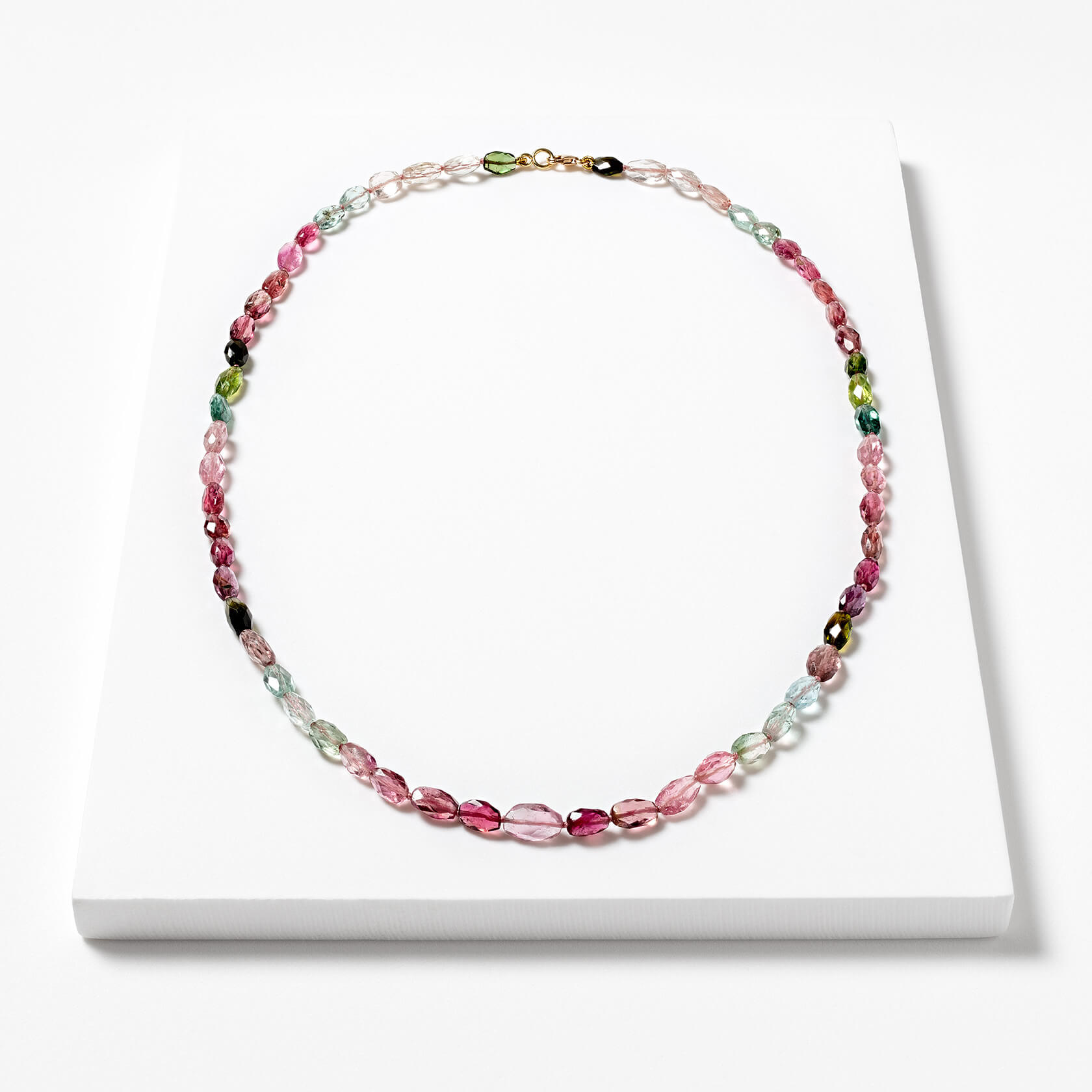 Rose tourmaline necklace Marybola