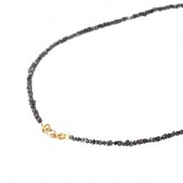 Collar diamante negro esenciales