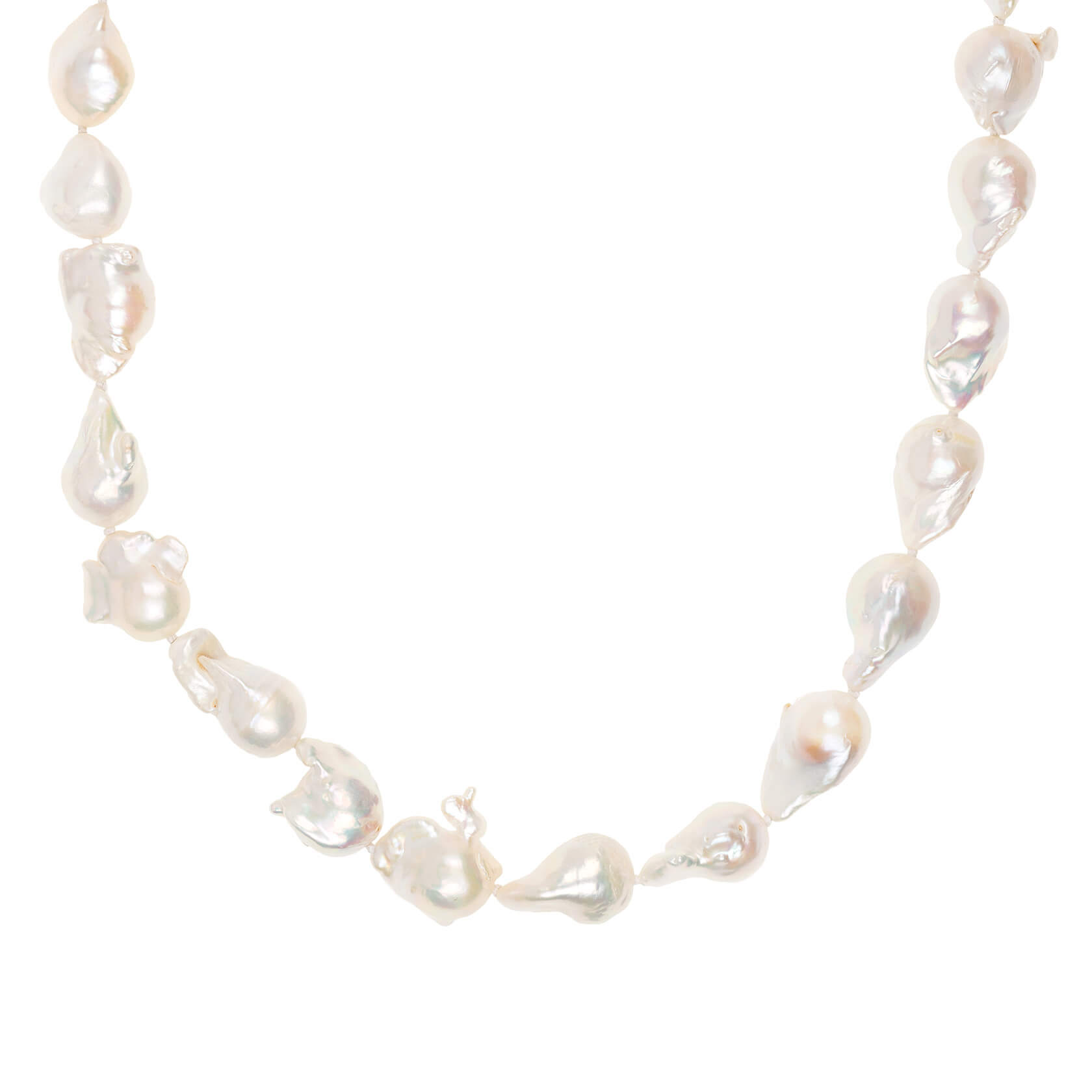 Pearl long necklace Marybola