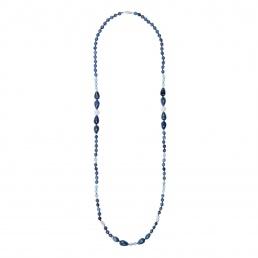 Sodalite long necklace | Marybola
