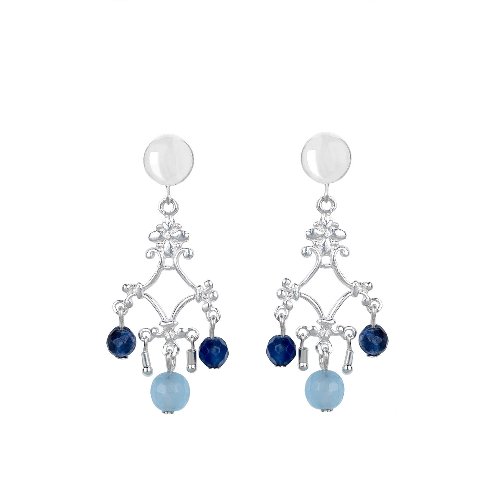 Angelite earrings