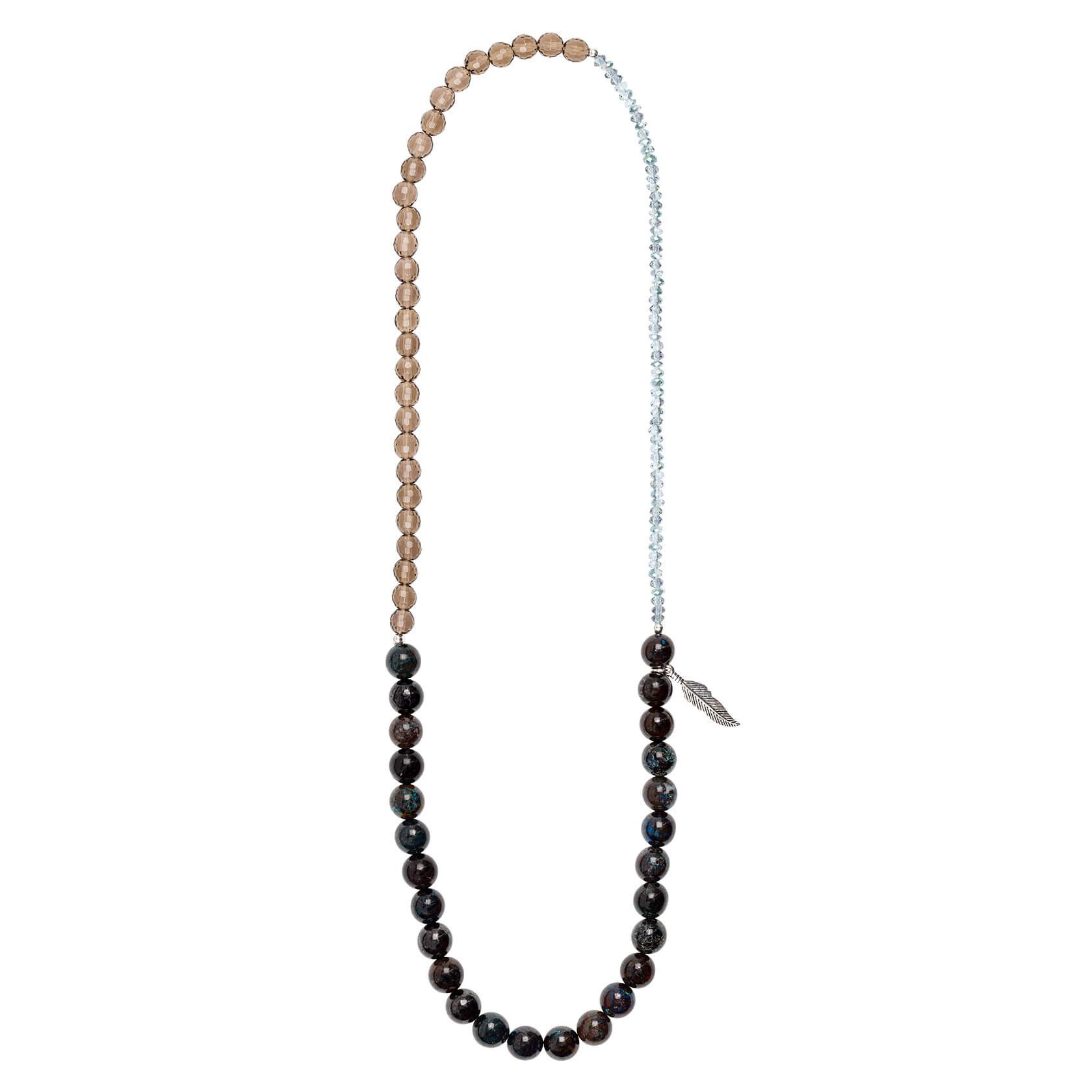 Esenciales smokey quartz bracelet