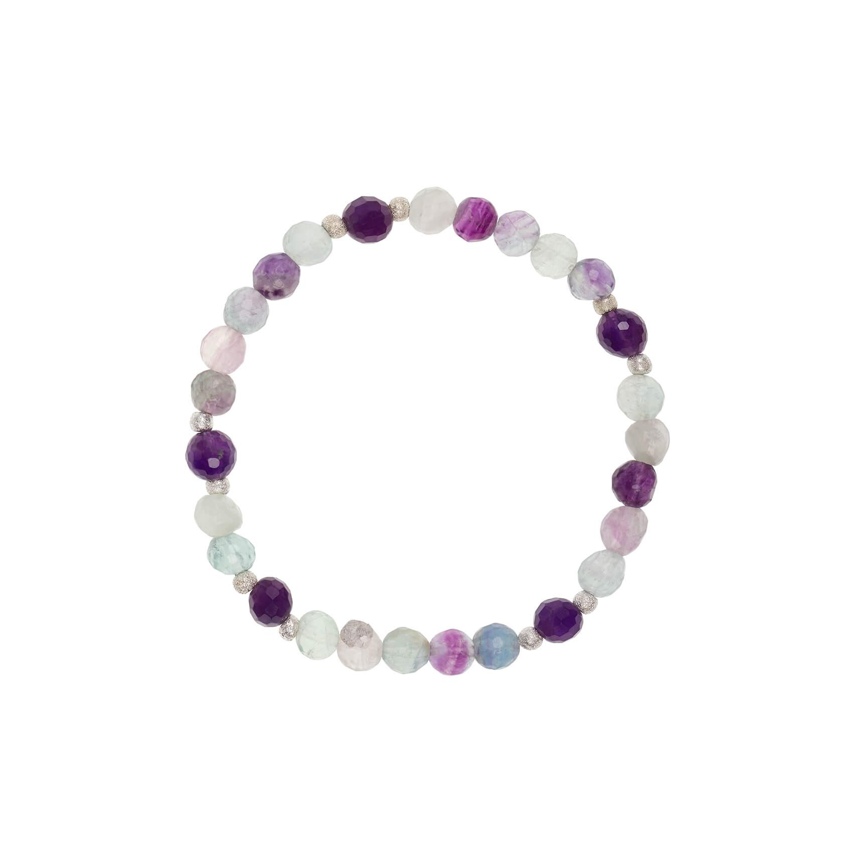 Fluorite elastic bracelet marybola