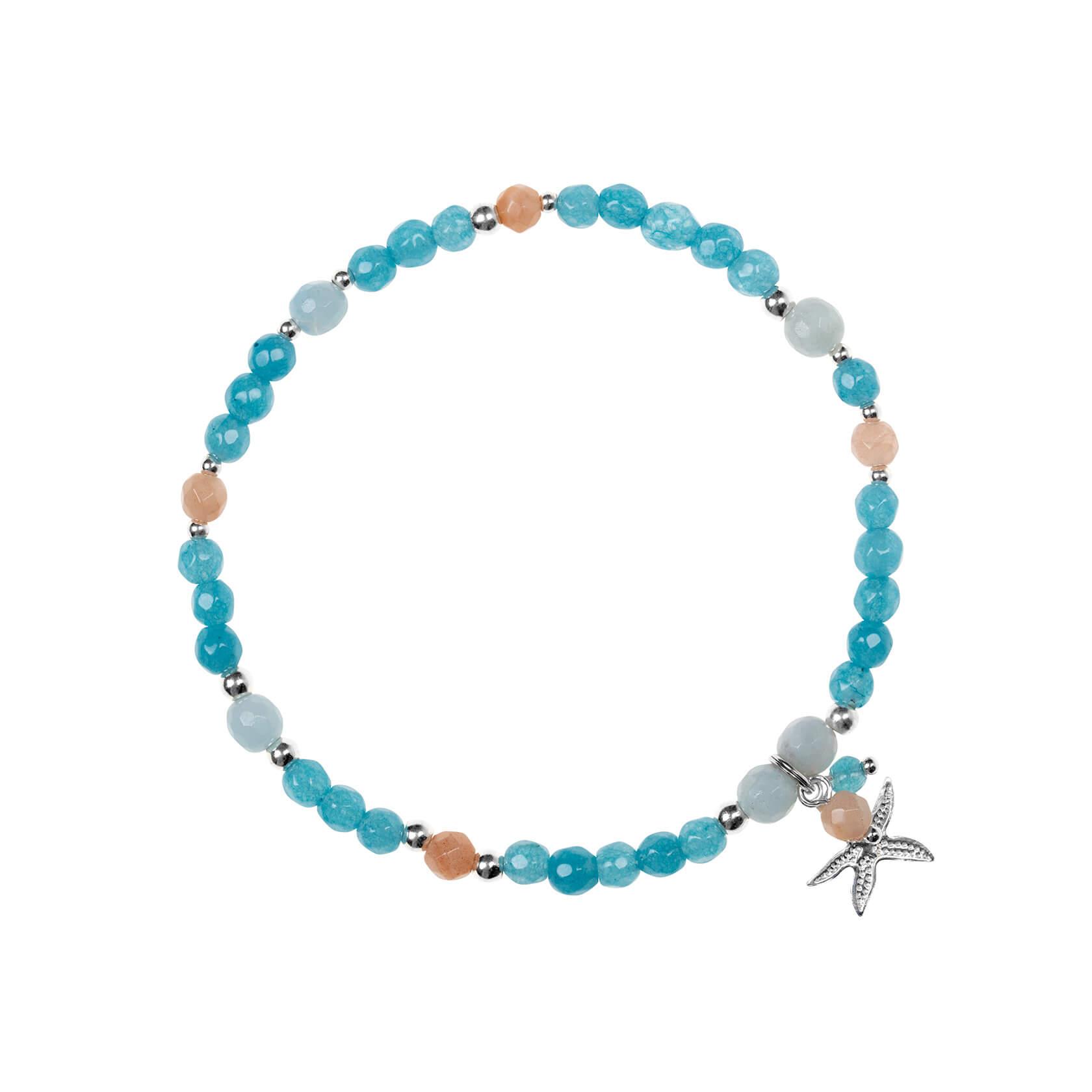 pulsera con estrella de mar