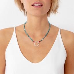 Blue apatite necklace | marybola
