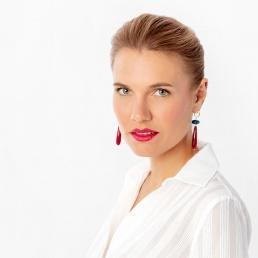 Agate drop earrings Marybola