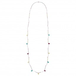 Long necklace made of drops marybola