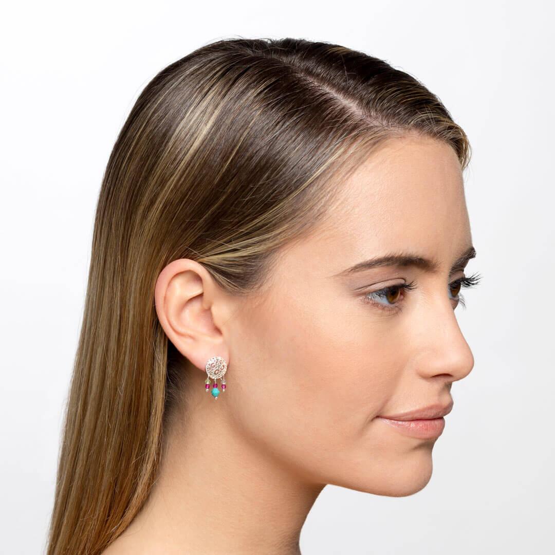 Turquoise earrings marybola