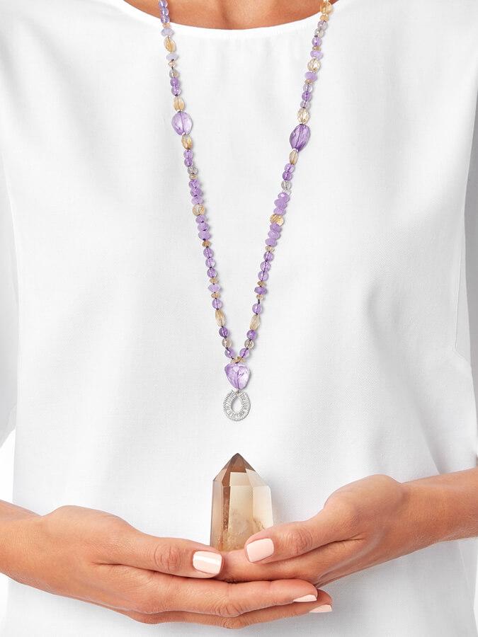 joyas artesanales con piedras naturales