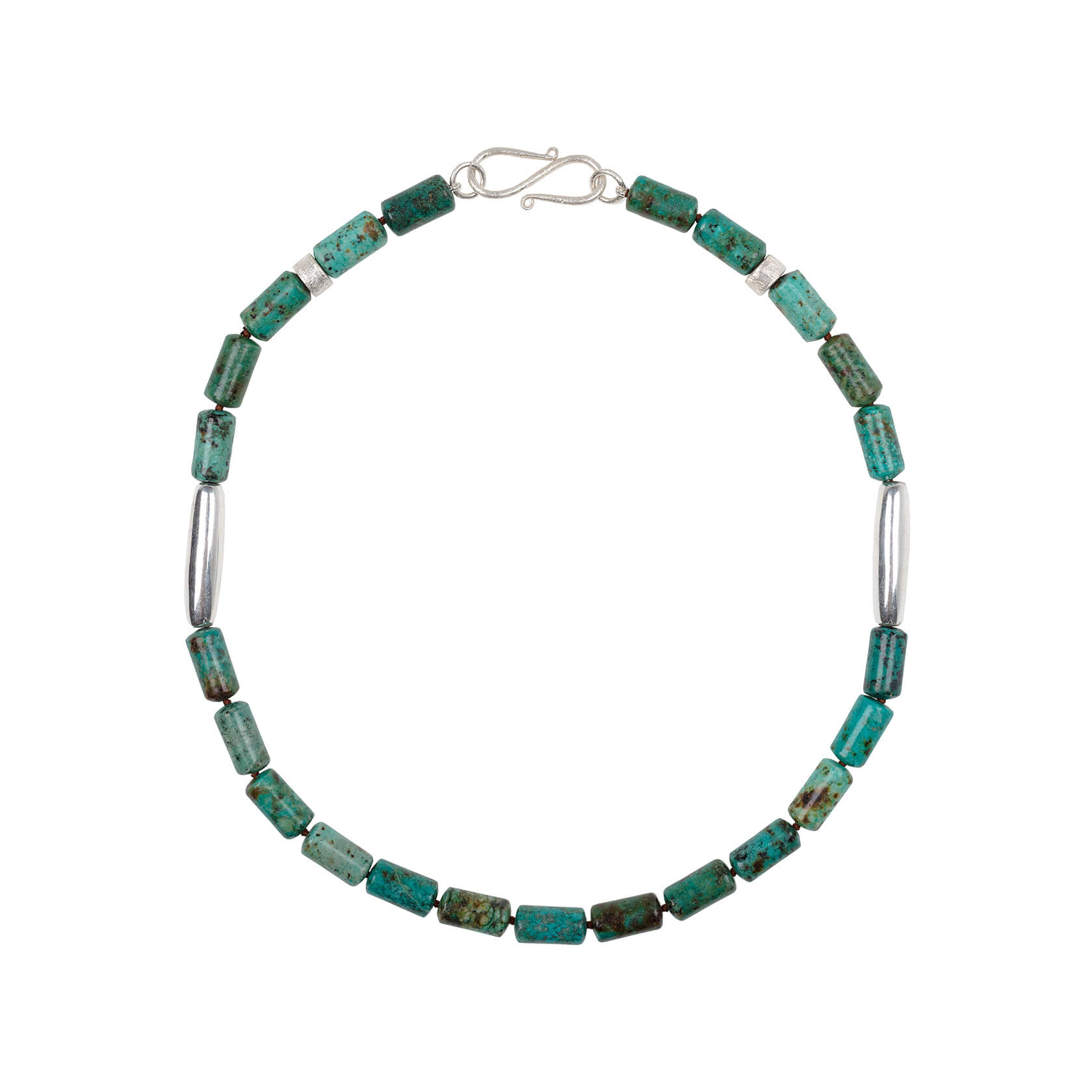 collar de turquesa africana