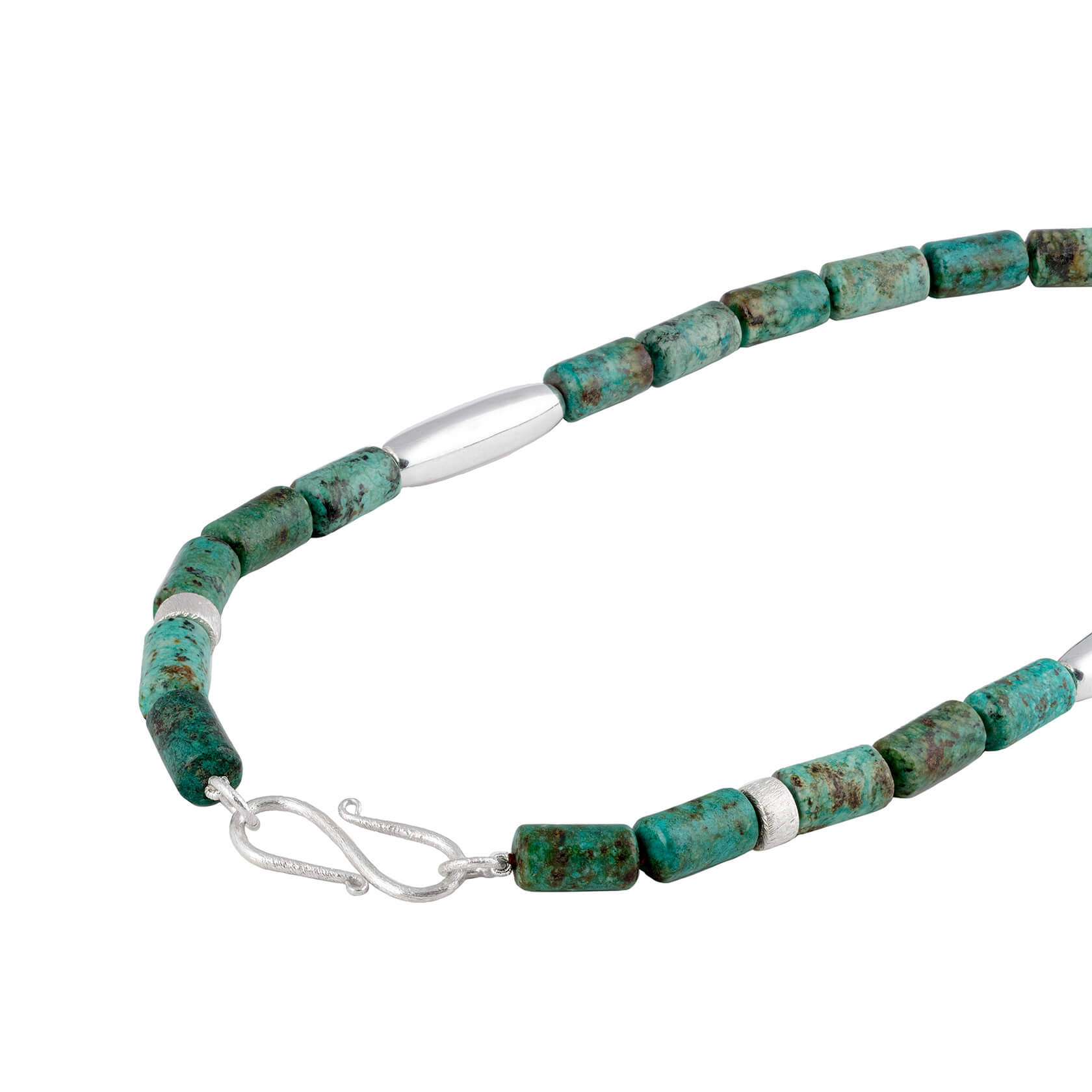 necklace adaptable african turquoise